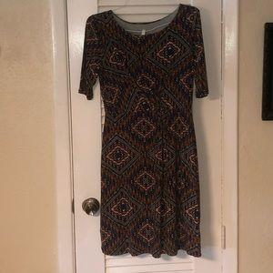 NWT Gilli geometric print dress